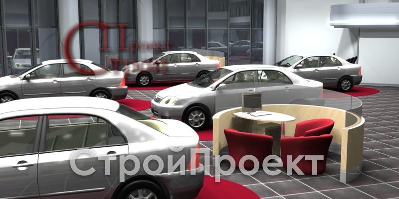 ШОУРУМ 4 (Тойота Центр Аврора в г. Самара 2006г.)
