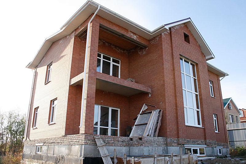 ФОТО ФАСАДА 3 (Кирпичный дом 017/027-08)