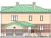 ФАСАД 1 (Кирпичный дом 017/027-08)