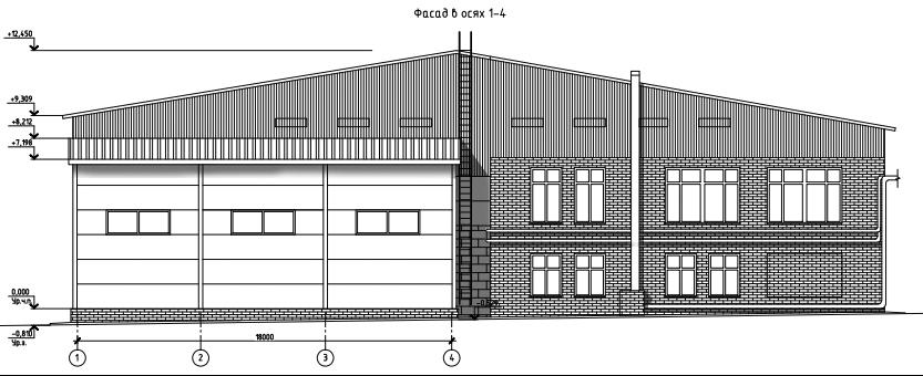 ФАСАД 1 (Производственное здание 15/08-2010)